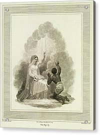 To Jesus Consecrated Acrylic Print by British Library