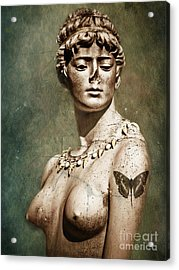 To Spite Her Face Acrylic Print by Colleen Kammerer