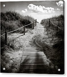 To The Beach Acrylic Print by Dave Bowman