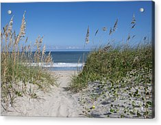 To The Beach Acrylic Print by Kay Pickens
