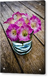 Tobacco Flowers Acrylic Print by Frank Tschakert