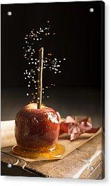 Toffee Apple Acrylic Print by Amanda Elwell