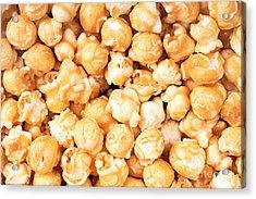 Toffee Popcorn Acrylic Print by Jane Rix