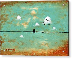 Together Acrylic Print by Todd Young