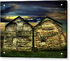 Together Until The End Acrylic Print by Thomas Young