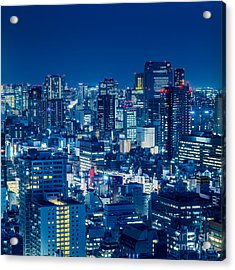 Tokyo 19 Acrylic Print by Tom Uhlenberg