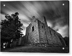 Tolquhon Castle Acrylic Print by Dave Bowman