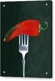 Too Hot To Handle Acrylic Print by Karyn Robinson
