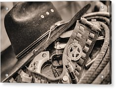 Tools Of The Trade  Acrylic Print by JC Findley