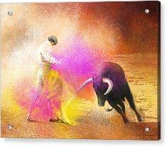 Toroscape 55 Acrylic Print by Miki De Goodaboom