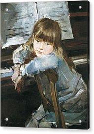 Torrescassana, Francesc 1845-1918. Girl Acrylic Print by Everett
