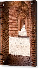 Tortugas Infinite Walkway Acrylic Print by Adam Pender