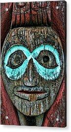 Totem Acrylic Print by Heather Applegate