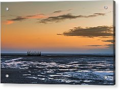 Acrylic Print featuring the photograph Tout Est Silence by Thierry Bouriat