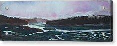 Towards Edgecomb Acrylic Print by Grace Keown