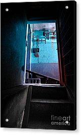 Towards The Glow Acrylic Print by Amy Cicconi