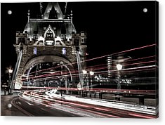 Tower Bridge London Acrylic Print by Martin Newman