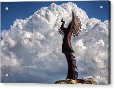 Towering Over Wichita Acrylic Print by JC Findley