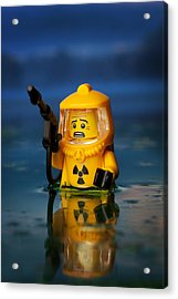 Toxic Acrylic Print by Samuel Whitton