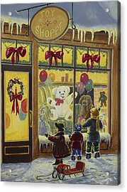 Toy Shoppe Acrylic Print by Roger Witmer