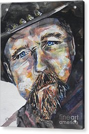 Trace Adkins..country Singer Acrylic Print by Chrisann Ellis