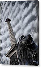 Trafalgar Square London Acrylic Print by Mark Rogan