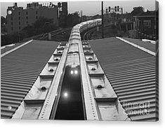 Train Keeps On Rollin Acrylic Print by John Telfer