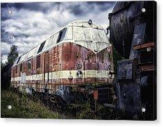Train Memories Acrylic Print by Mountain Dreams