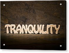 Tranquility Acrylic Print by Donald  Erickson