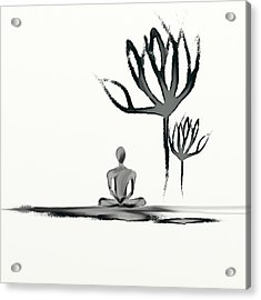 Tranquility Acrylic Print by Len YewHeng