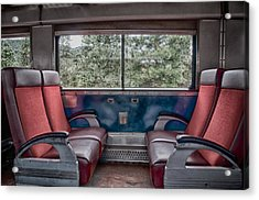 Trans Siberian Express Acrylic Print by Trever Miller
