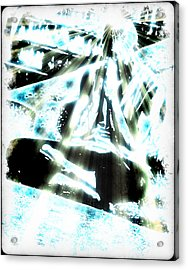 Transcending Acrylic Print by Frederico Borges