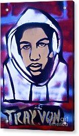 Trayvon's America Acrylic Print by Tony B Conscious