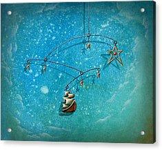 Treasure Hunter Acrylic Print by Cindy Thornton