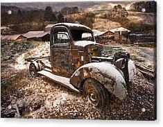 Treasures Acrylic Print by Debra and Dave Vanderlaan