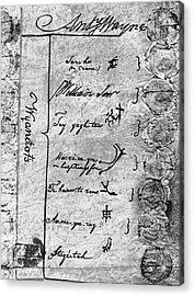 Treaty Of Greenville, 1795 Acrylic Print by Granger