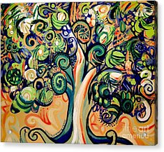 Tree Candy 2 Acrylic Print by Genevieve Esson