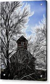 Tree House Acrylic Print by Steve McKinzie