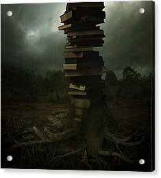 Tree Of Knowledge Acrylic Print by Fern Evans