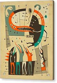 Tree Of Knowledge Acrylic Print by Jazzberry Blue