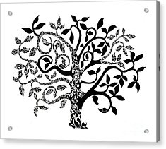 Tree Of Life Acrylic Print by Anushree Santhosh