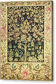 Tree Of Life Acrylic Print by William Morris