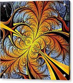 Tree Perspective Acrylic Print by Anastasiya Malakhova