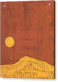 Tres Orejas Original Painting Acrylic Print by Sol Luckman