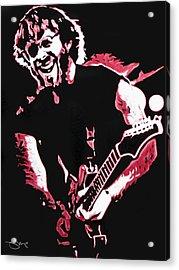 Trey Anastasio In Pink Acrylic Print by Joshua Morton