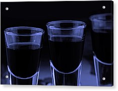Trhee Shoot Glasses Acrylic Print by Toppart Sweden