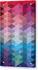 Triangles Acrylic Print by Mark Ashkenazi