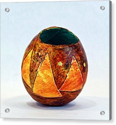 Triangulum No. 1 Acrylic Print by Mark M  Mellon