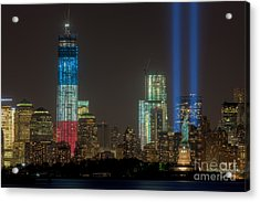 Tribute In Light Xiii Acrylic Print by Clarence Holmes