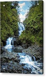 Trifalls Acrylic Print by Hawaii  Fine Art Photography
